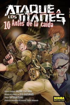ATAQUE A LOS TITANES.10 ANTES DE LA CAIDA